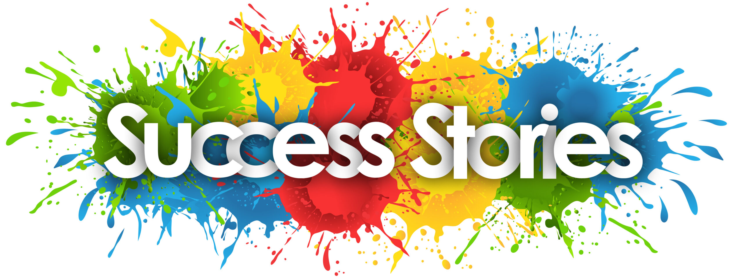 Success Stories Paint splat Image